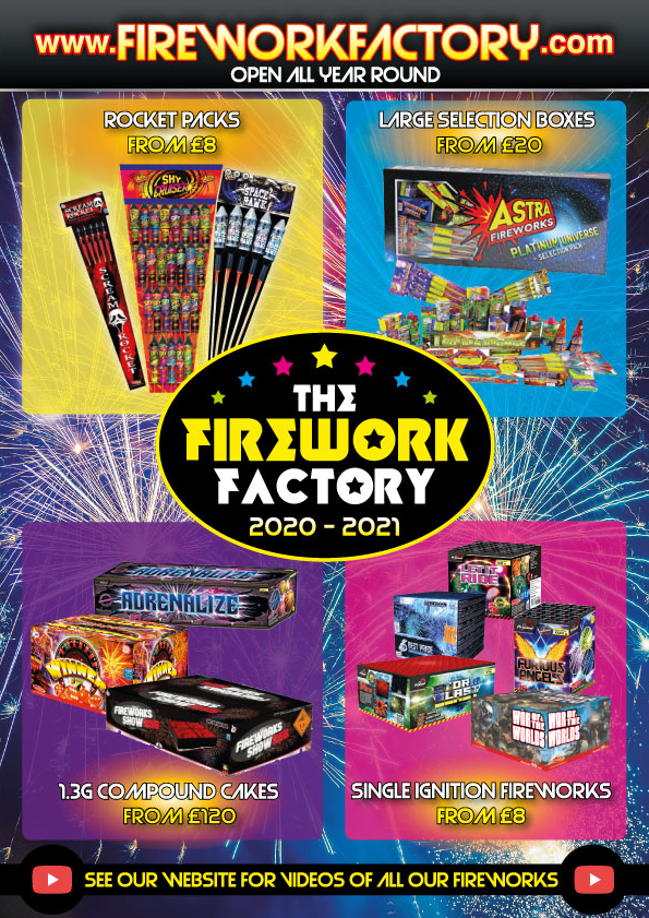 Firework Factory 2020 Brochure Cover
