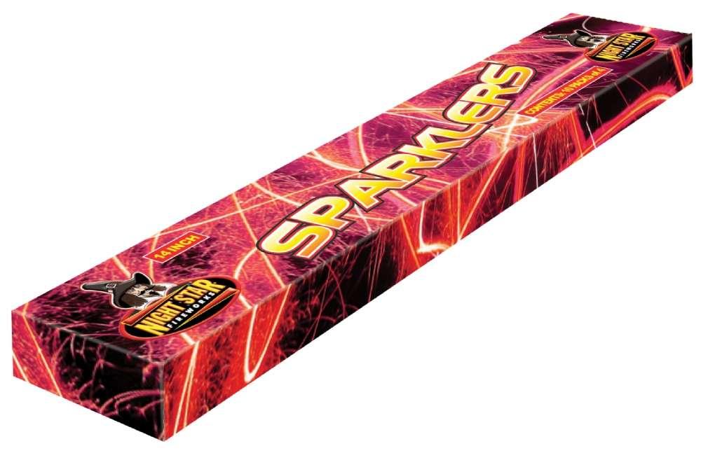Sparklers 14 inch 4 pack - fireworks
