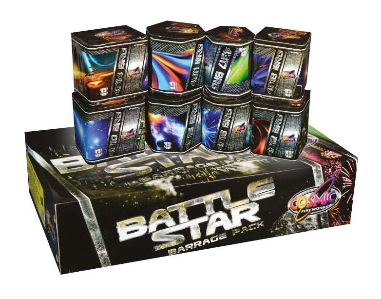 Battlestar Barrage Pack from Fireworks Factory in Shirebrook