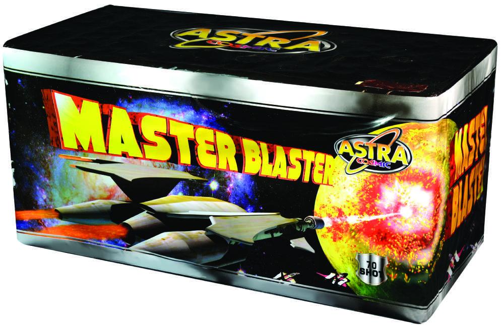 MASTER BLASTER 70 SHOT CAKE
