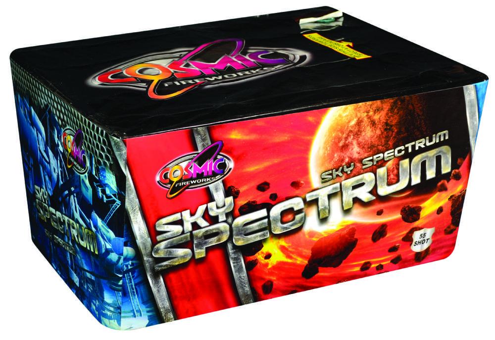 SKY SPECTRUM 50 SHOT CAKE