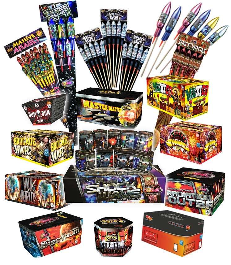 pub display fireworks pack