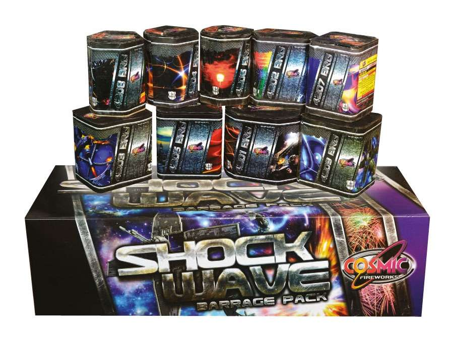 Shockwave Barrage Pack from Fireworks Factory Mansfield