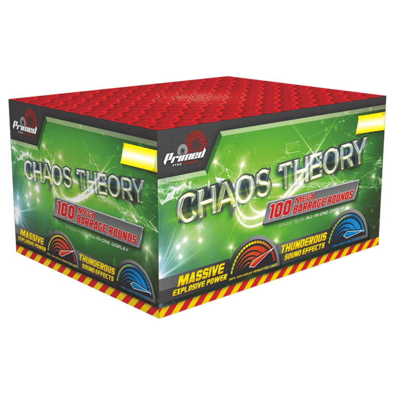 Chaos theory single ignition firework