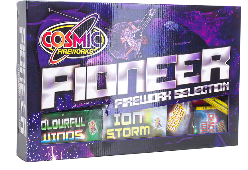 Pioneer selection box fireworks