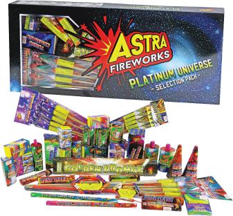 Platinum-Universe selection box fireworks