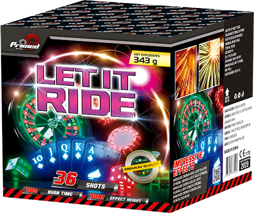Let it Ride single ignition firework